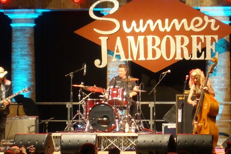 Life Music at the Summer Jamboree in Senigallia, Le Marche/Italy