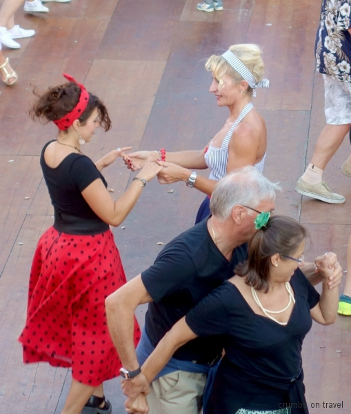 Danzing at the Summer Jamboree in Senigallia, Le Marche/Italy