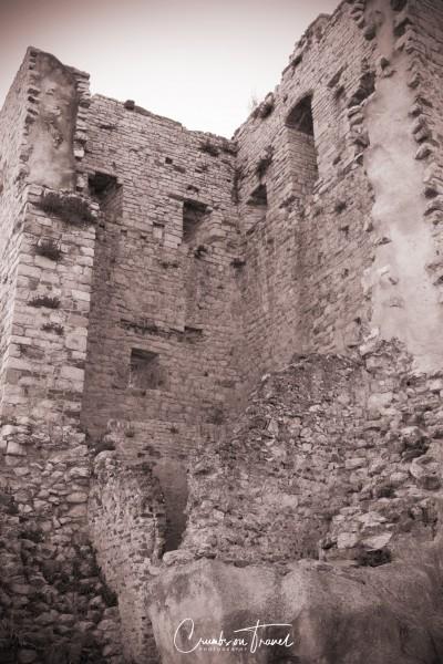 Rocca Aldobrandesca ruins in Suvereto