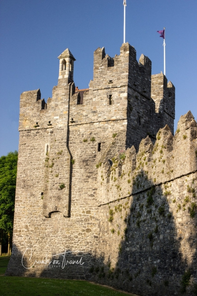 The village and castle of Swords, north of Dublin