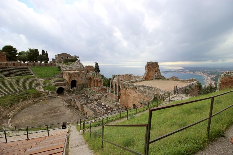 The Greek theater of Taormina, Sicily/Italy
