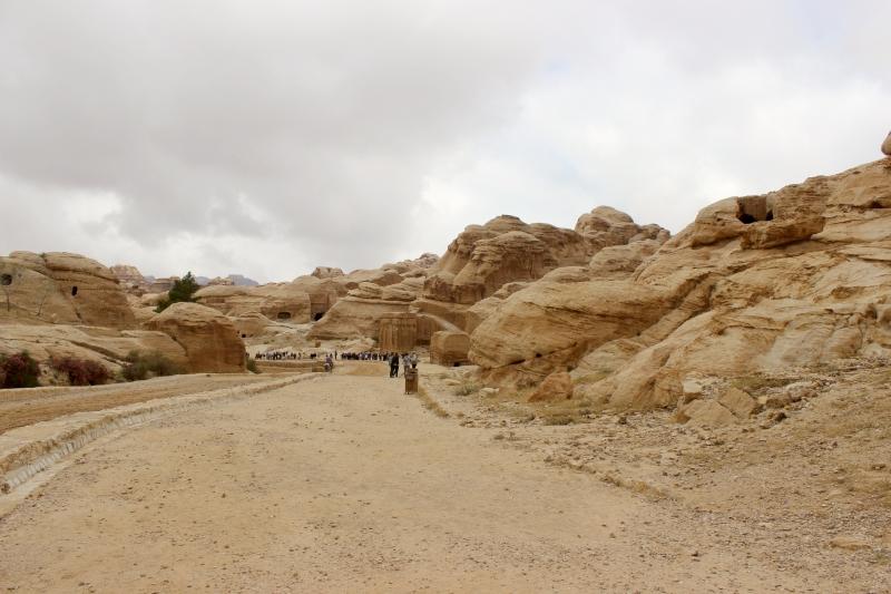 Entrance of Petra, Jordan