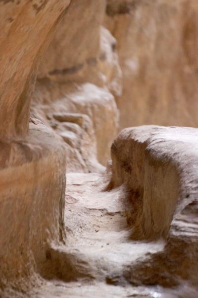 Aqueduct in Petra, Jordan
