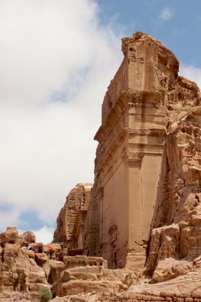 Building, Petra, Jordan