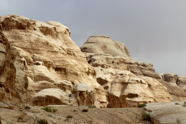 View of Petra, Jordan