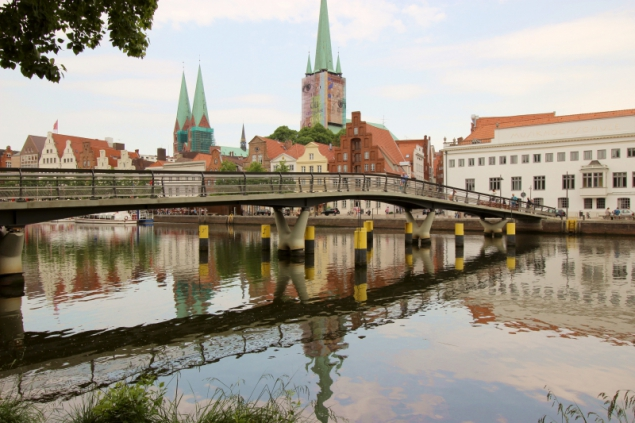 View of Lübeck