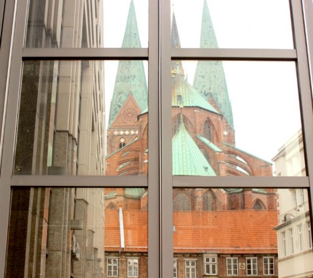 Saint Mary's church in Lübeck