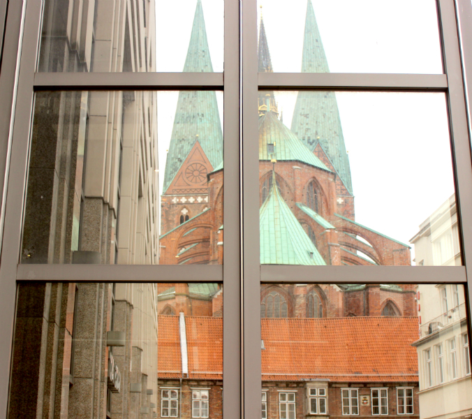 Saint Mary's church in Lübeck