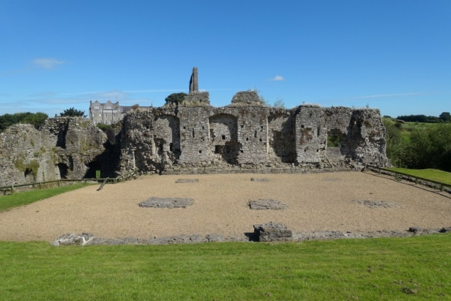 On the Grounds of Trim Castle, Trim, Co Meath/Ireland