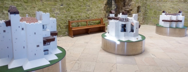 Inside the Keep of Trim Castle, Trim, Co Meath/Ireland