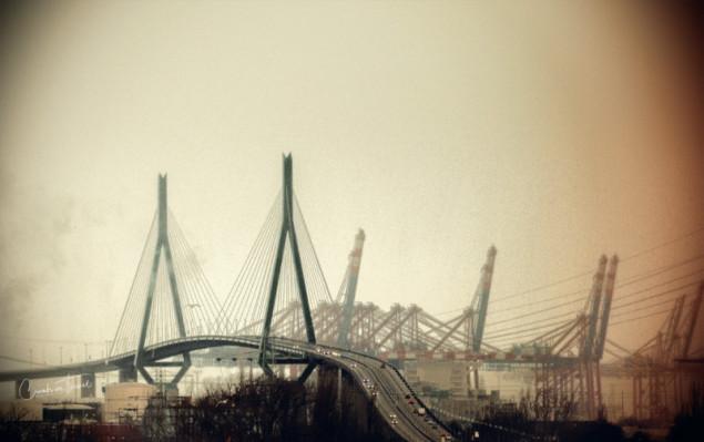 Bridge, Urban Hamburg