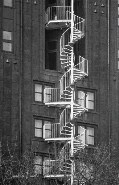 Stairs, Urban Hamburg