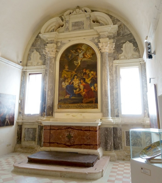 Chapel of Nativity, Oratory of the Cathedral of Urbino, Le Marche/Italy