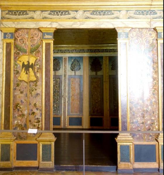 Alcove of the Palazzo Ducale of Urbino, Le Marche/Italy
