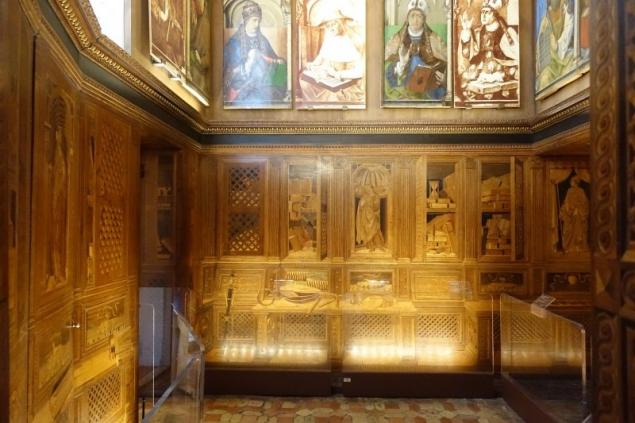 inside the Palazzo Ducale of Urbino, Le Marche/Italy