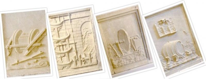 Collage, Palazzo Ducale of Urbino, Le Marche/Italy