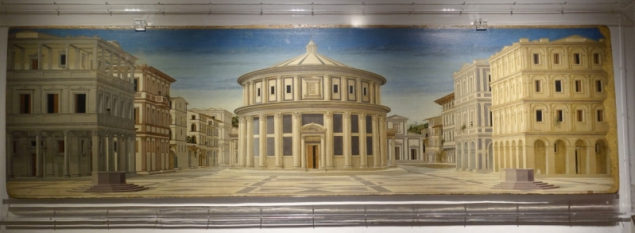 Overview, Palazzo Ducale of Urbino, Le Marche/Italy