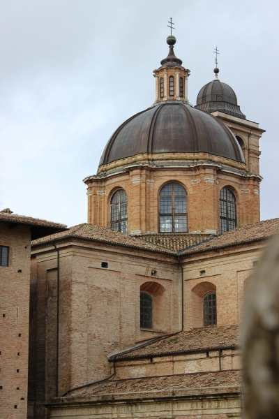 Dome of the cathedral of Urbino, Le Marche/Italy