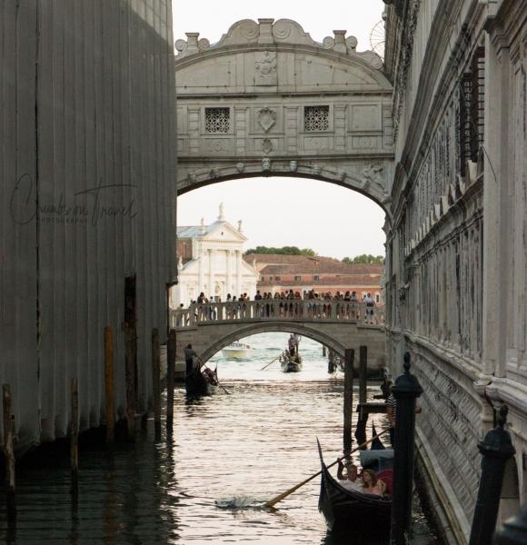 Ponte dei Sospiri and Ponte della Paglia, Venice, Italy