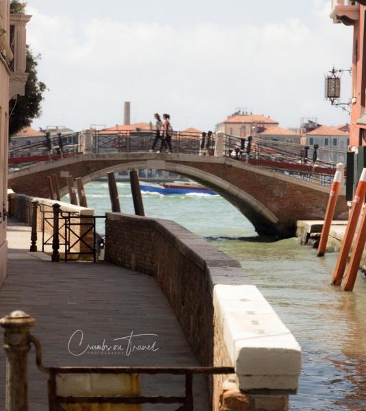 Ponte de la Calcina, Venice, Italy