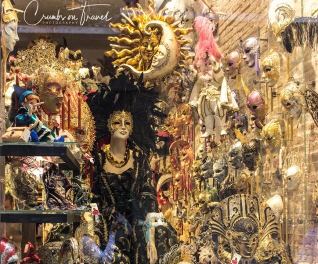 Masks in Venice, Italy