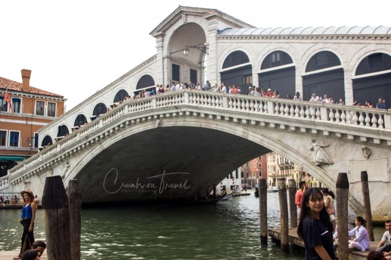 The Rialto Bridge in Venice/Italy