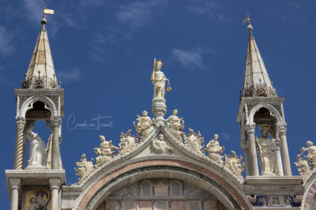The Cathedral of  Saint Mark's in Venice/Italy