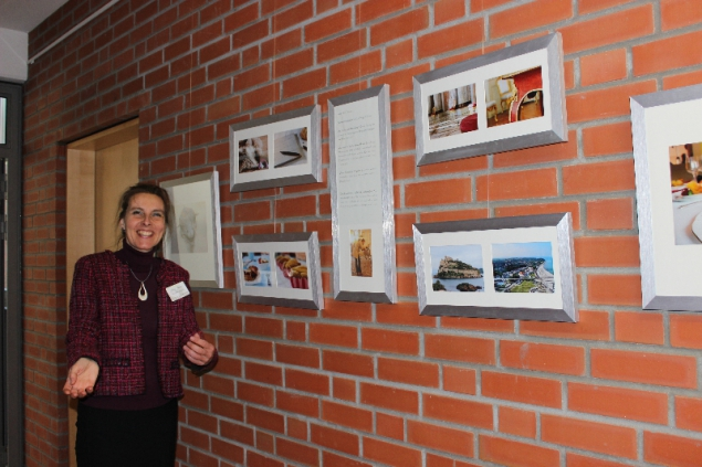 My photography at the Vernissage Scharbeutz 2014