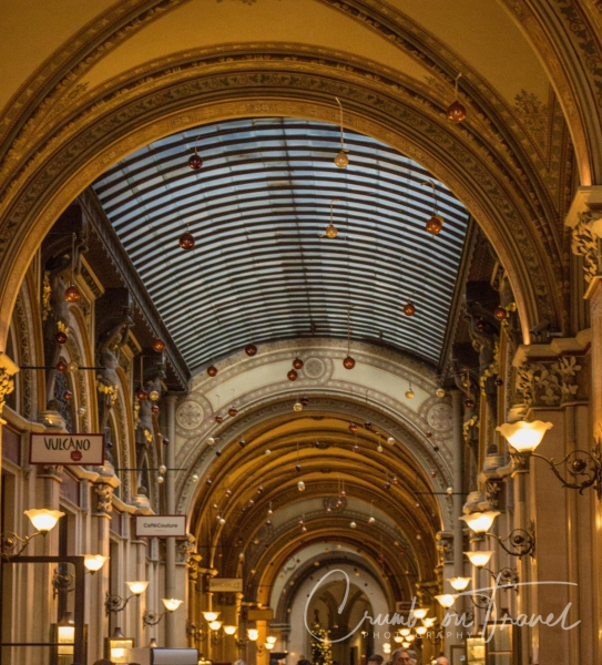 Shopping mall in the Palais Ferstel, Vienna/Austria