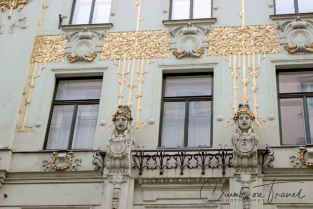 Art Nouveau house, Vienna/Austria