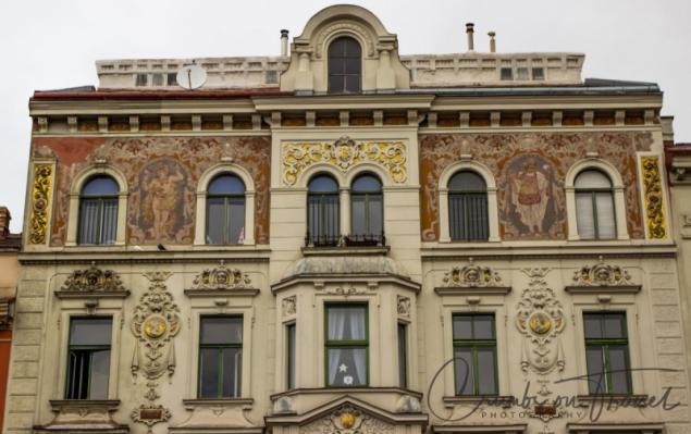 Columbushof at Columbusplatz. Vienna/Austria