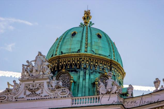Cupola of St. Michael's Gate, Vienna/Austria