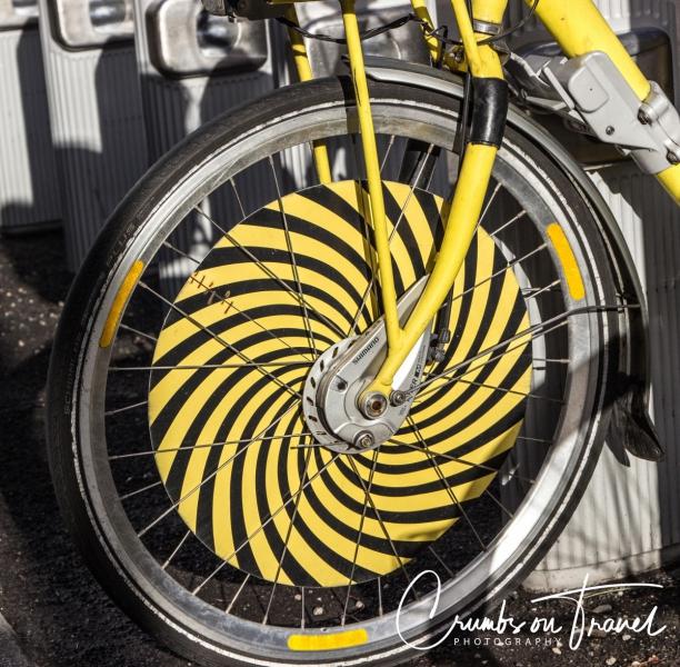 Detail of a bike, Vienna/Austria