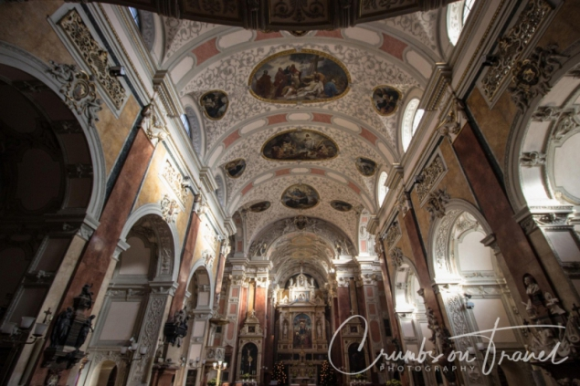 Inside the Schottenkirche (Scots church), Vienna/Austria