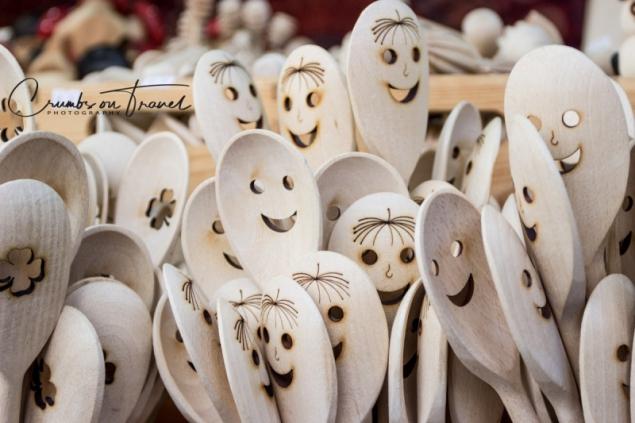 Funny kitchen utensils, seen on a Xmas market in Vienna/Austria