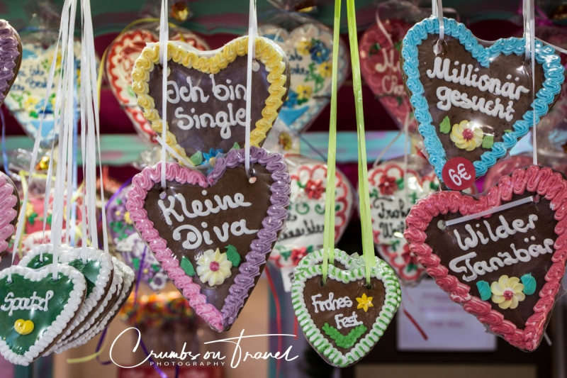'My sweetie'-hearts, seen on a Xmas market in Vienna/Austria