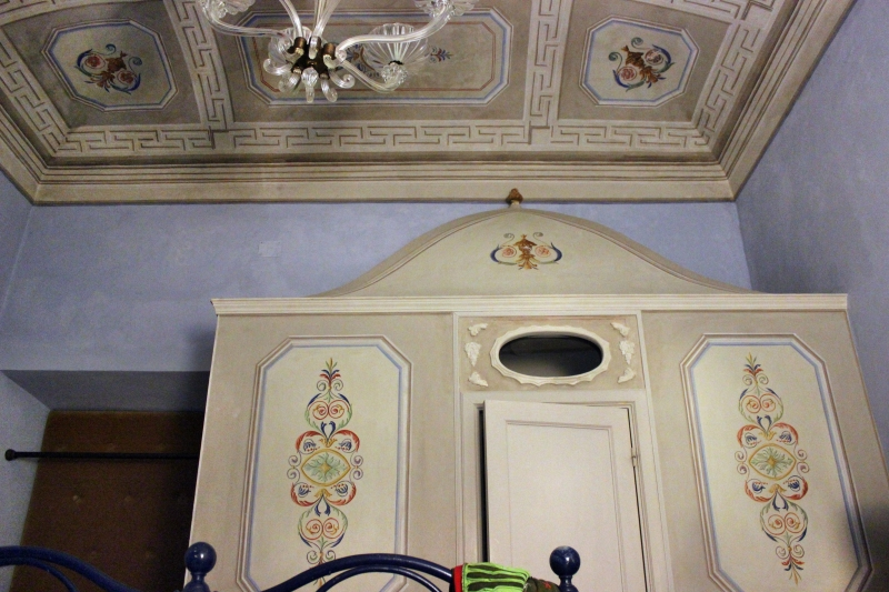Guest room at Villa Cicchi, Le Marche/Italy