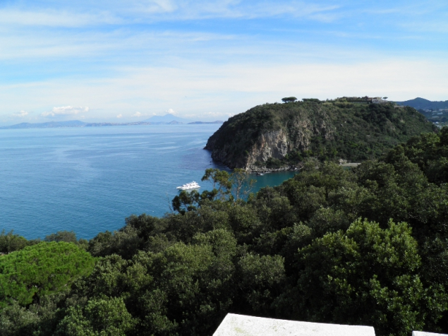 View from La Colombaia, Villa Visconti, Forio/Ischia, Italy