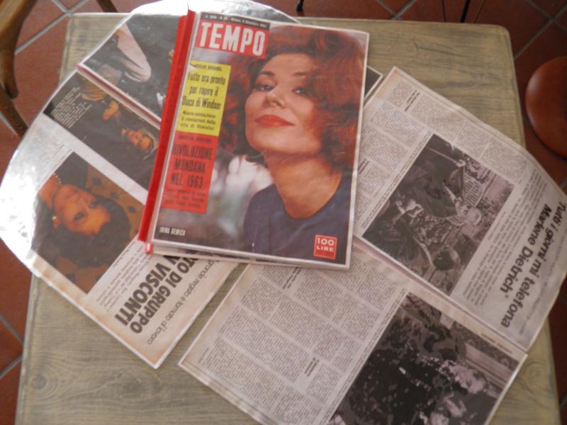 Magazines, La Colombaia, Villa Visconti, Forio/Ischia, Italy