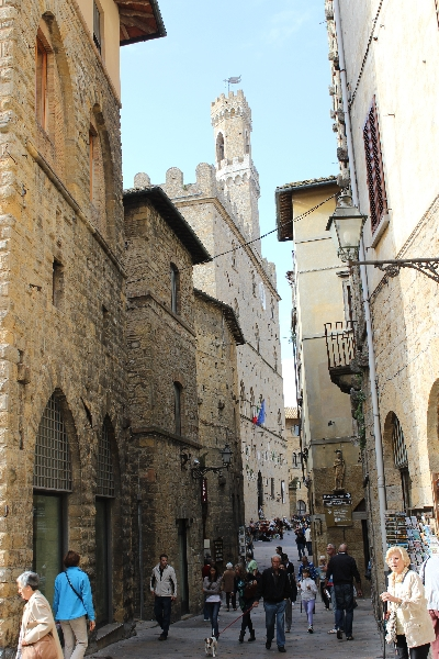 Tower in Volterra, Tuscany