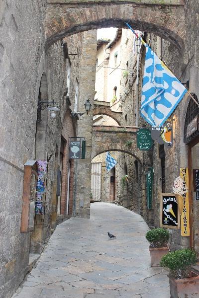 Streetview of Volterra, Tuscany