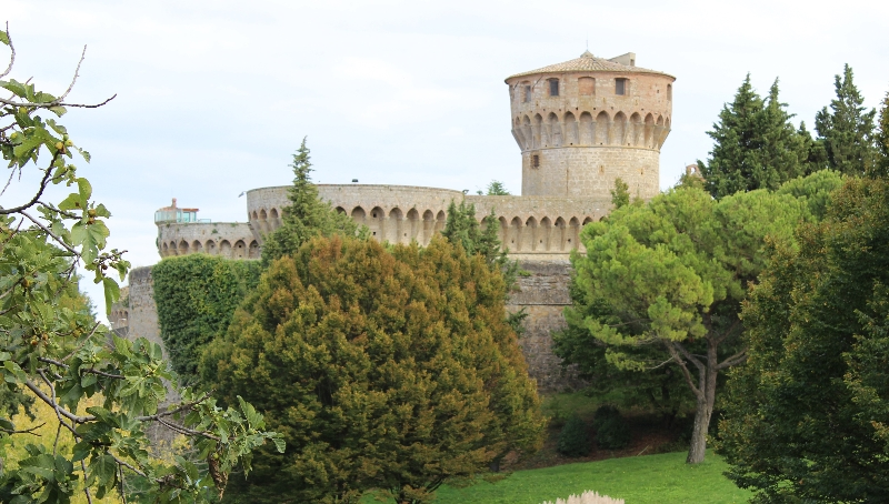 Castle of Volterra, Tuscany