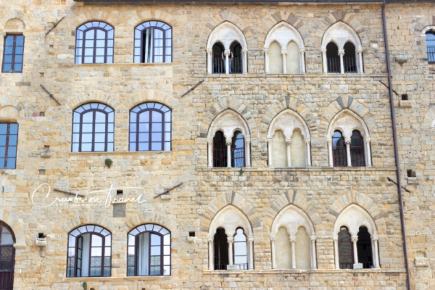 Impressions of Volterra in Tuscany