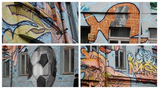 Graffitti in Schwerin, Germany