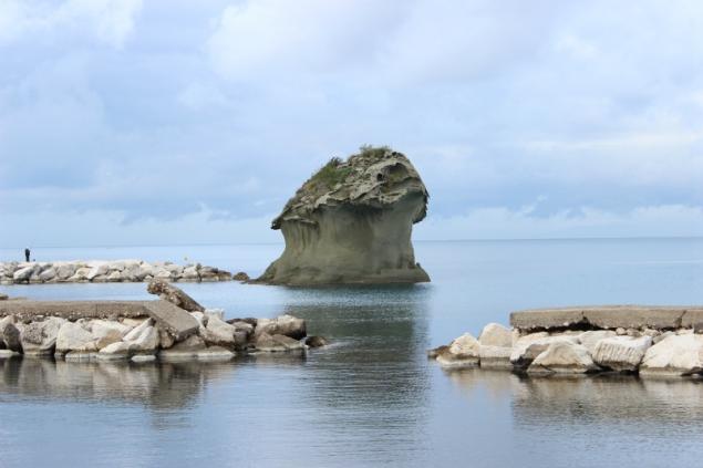 The symbol Il fungo, Lacco Ameno/Ischia, Italy