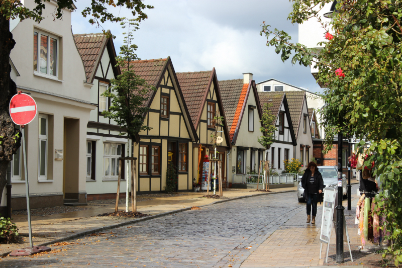 Warnemünde street view
