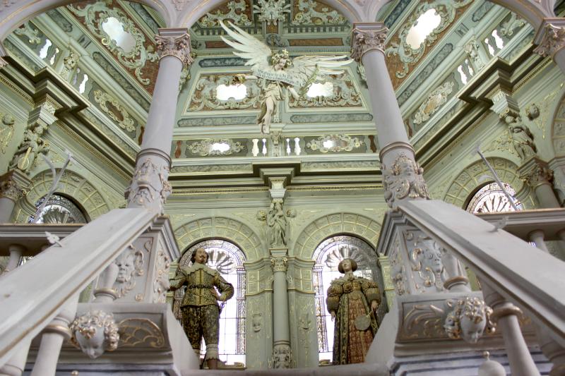 In the dome of Bad Doberan