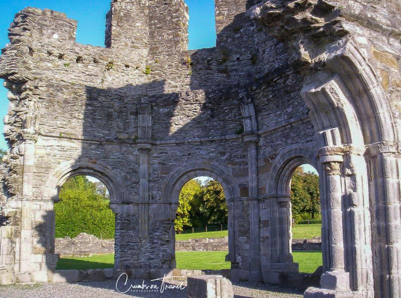 Lavabo inside, Mellifont Abbey
