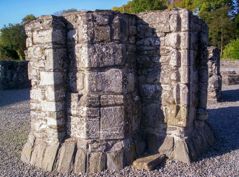 Main pillar, Mellifont Abbey