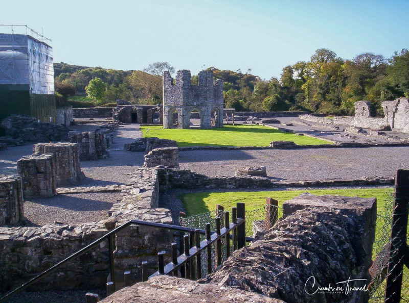 Overview of Mellifont Abbey